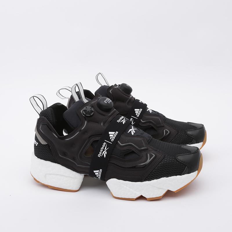 чёрные  кроссовки reebok instapump fury boost FU9239 - цена, описание, фото 2