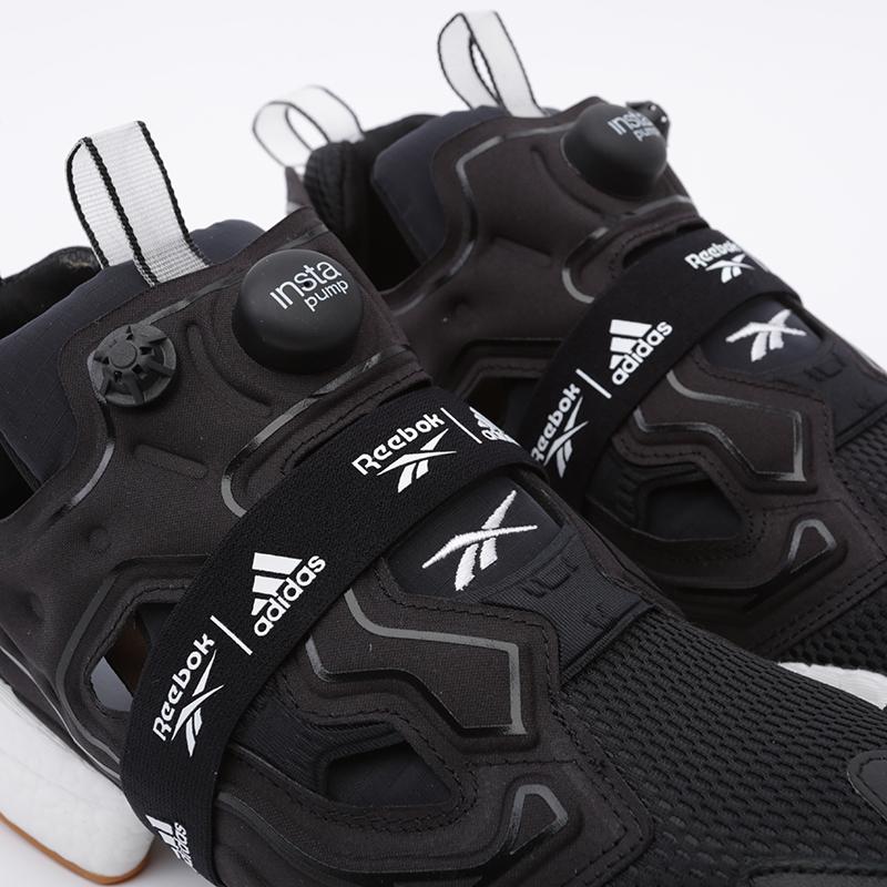 чёрные  кроссовки reebok instapump fury boost FU9239 - цена, описание, фото 7
