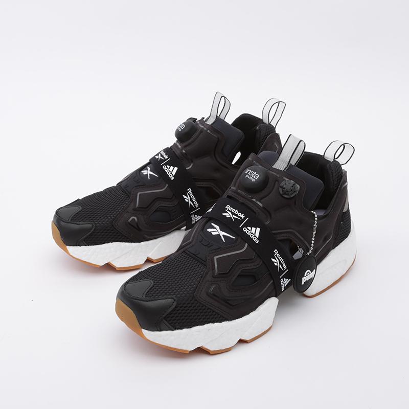 чёрные  кроссовки reebok instapump fury boost FU9239 - цена, описание, фото 4