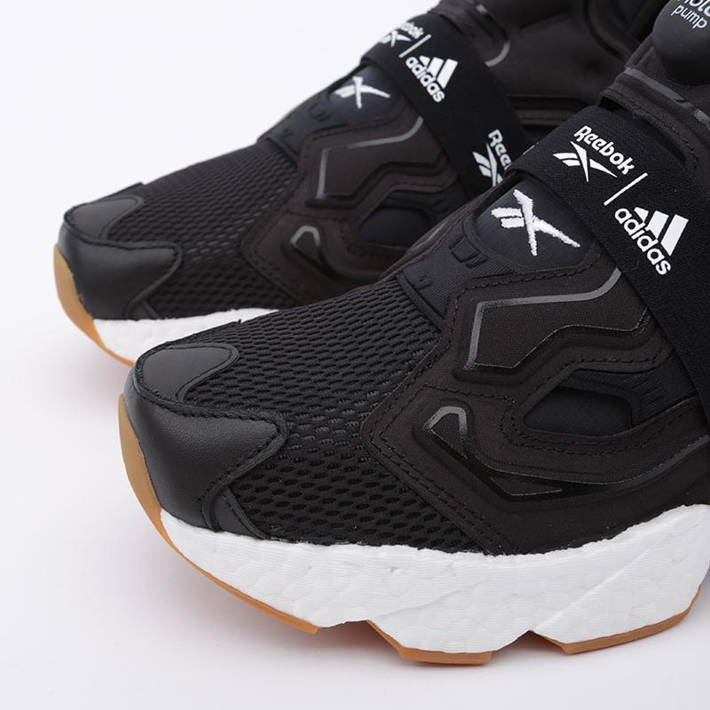 чёрные  кроссовки reebok instapump fury boost FU9239 - цена, описание, фото 6