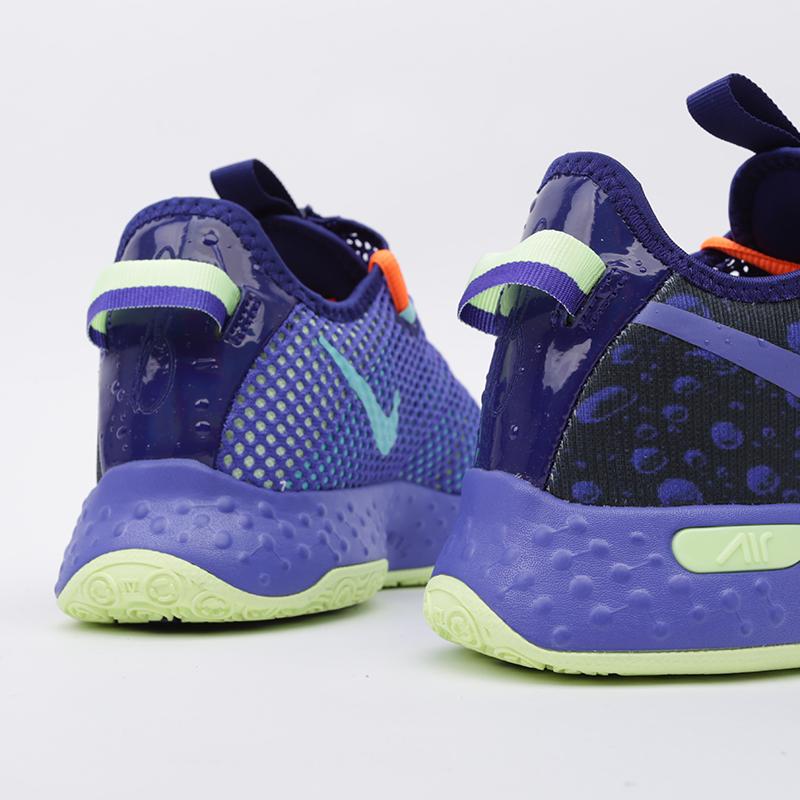 мужские синие  кроссовки nike pg 4 gatorade CD5078-500 - цена, описание, фото 5