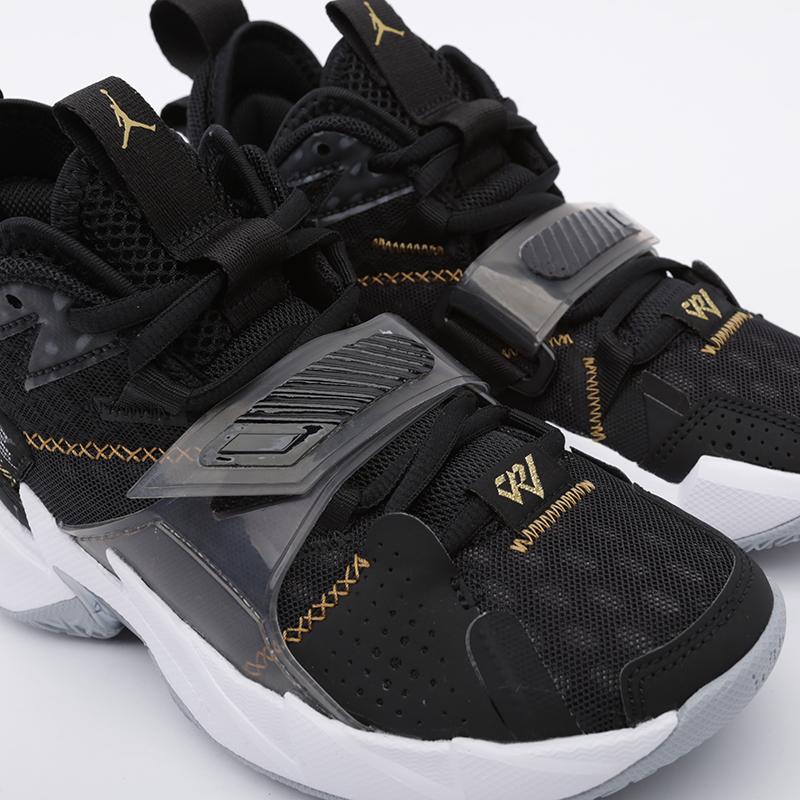 женские чёрные  кроссовки jordan why not zero.3 (gs) CD5804-001 - цена, описание, фото 5