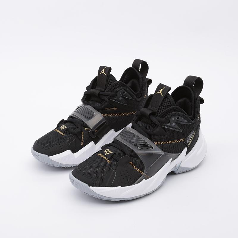 женские чёрные  кроссовки jordan why not zero.3 (gs) CD5804-001 - цена, описание, фото 6