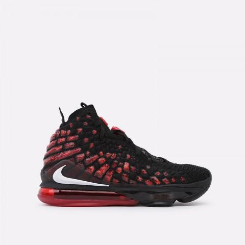 мужские чёрные  кроссовки nike lebron xvii BQ3177-006 - цена, описание, фото 1