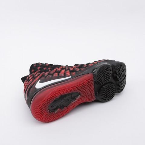 мужские чёрные  кроссовки nike lebron xvii BQ3177-006 - цена, описание, фото 3