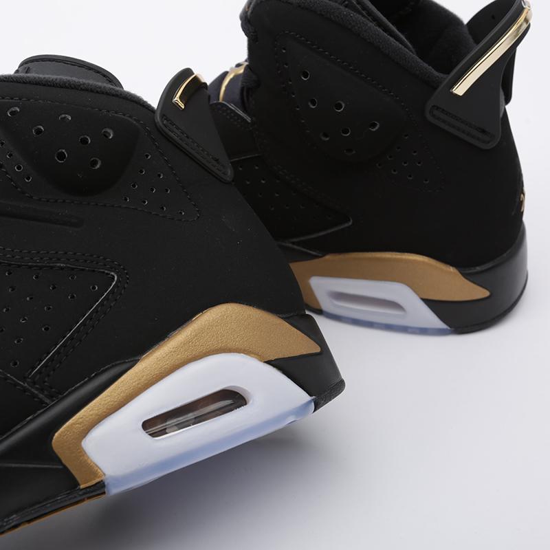 мужские чёрные  кроссовки jordan 6 retro dmp CT4954-007 - цена, описание, фото 8