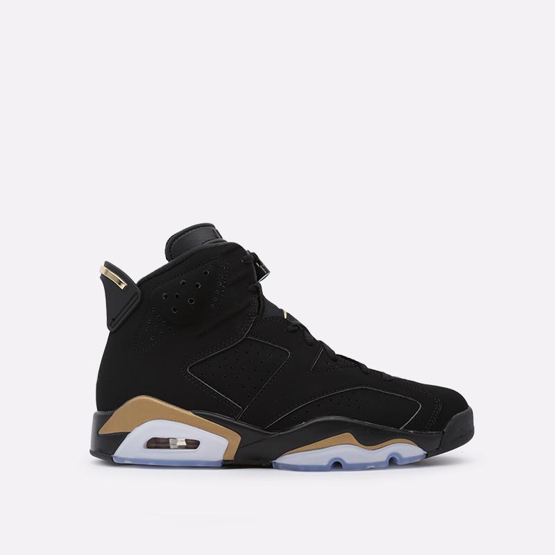 мужские чёрные  кроссовки jordan 6 retro dmp CT4954-007 - цена, описание, фото 1