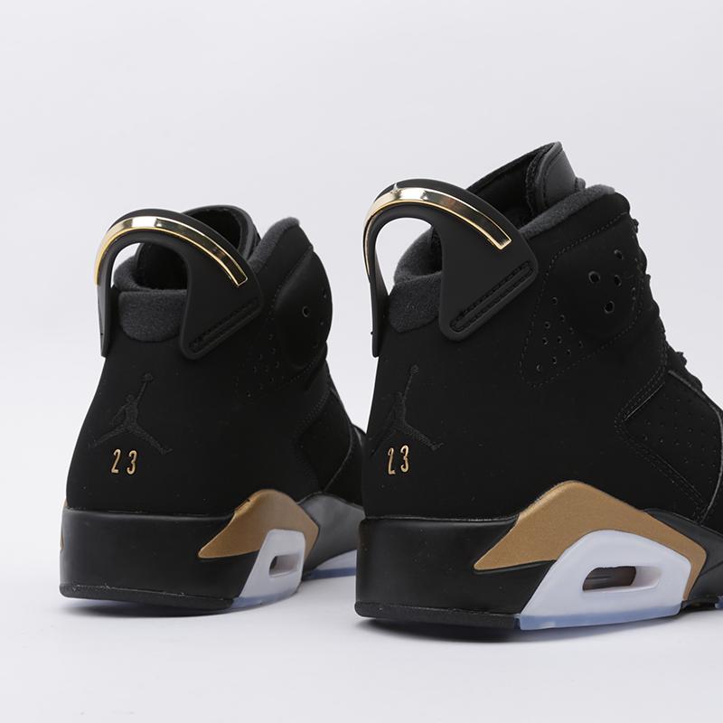 мужские чёрные  кроссовки jordan 6 retro dmp CT4954-007 - цена, описание, фото 5
