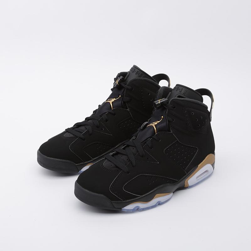 мужские чёрные  кроссовки jordan 6 retro dmp CT4954-007 - цена, описание, фото 4