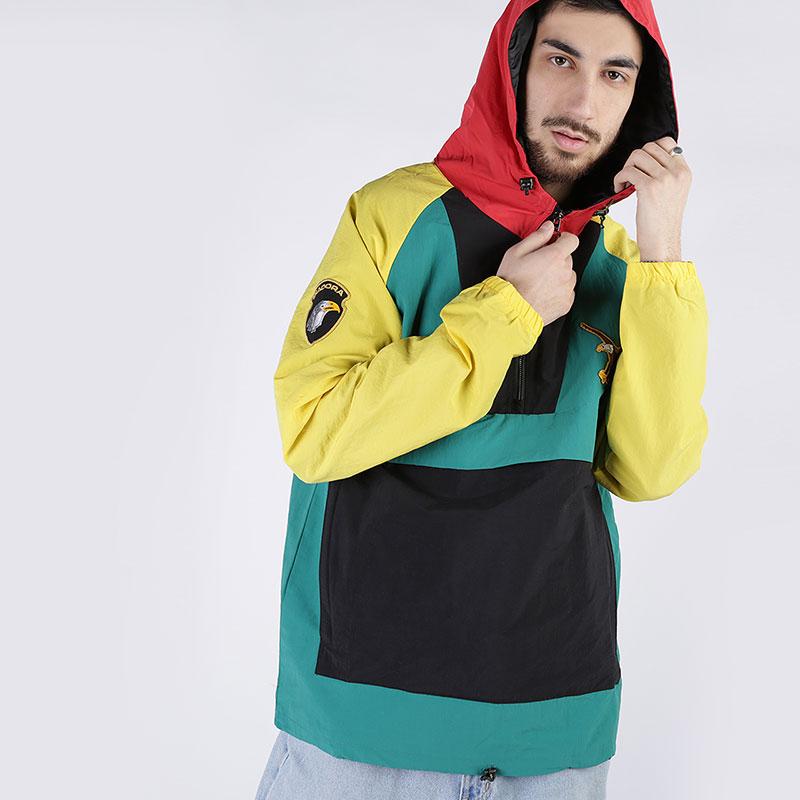 мужскую разноцветную  куртку diadora anorak mcnairy DR202176304 - цена, описание, фото 1