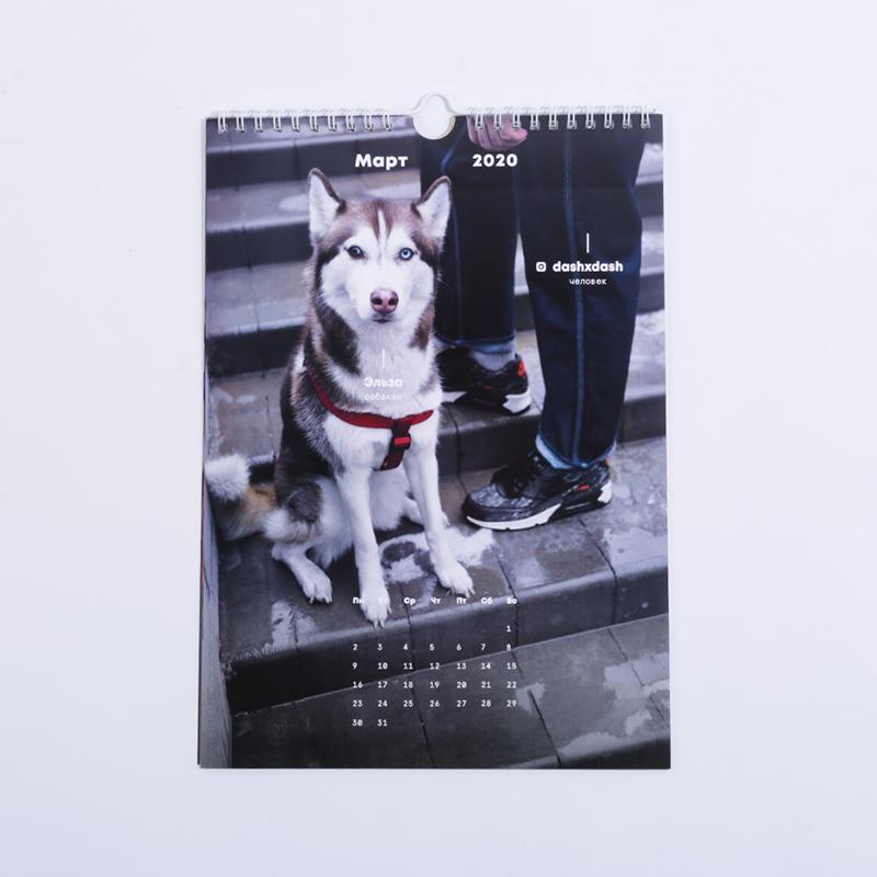 календарь  с собакенами 2020 - цена, описание, фото 2
