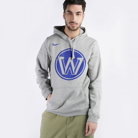 Толстовка Nike Warriors City Edition Logo NBA Hoodie