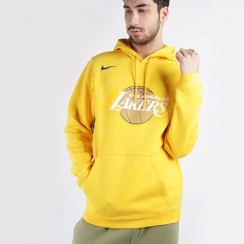 Толстовка Nike Lakers City Edition Logo NBA Hoodie