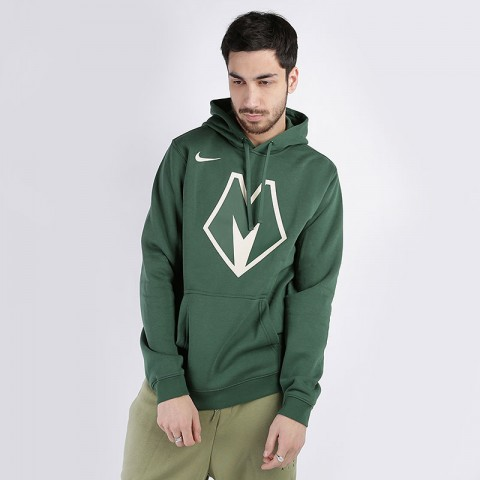 Толстовка Nike Bucks City Edition Logo NBA Hoodie