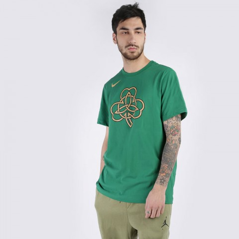 Футболка Nike Celtics City Edition LogoDri-FIT NBA T-Shirt