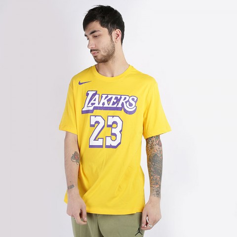 Футболка Nike LeBron James Lakers City Edition Dri-FIT NBA T-Shirt
