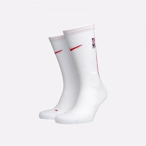 мужские белые  носки nike elite crew SX7870-100 - цена, описание, фото 1