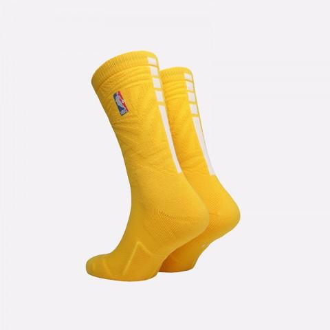 мужские жёлтые  носки nike elite crew SX7879-728 - цена, описание, фото 2