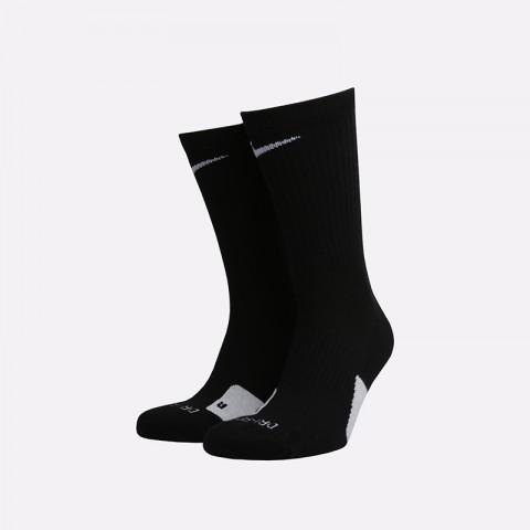 мужские чёрные  носки nike elite everyday crew SX7627-010 - цена, описание, фото 1