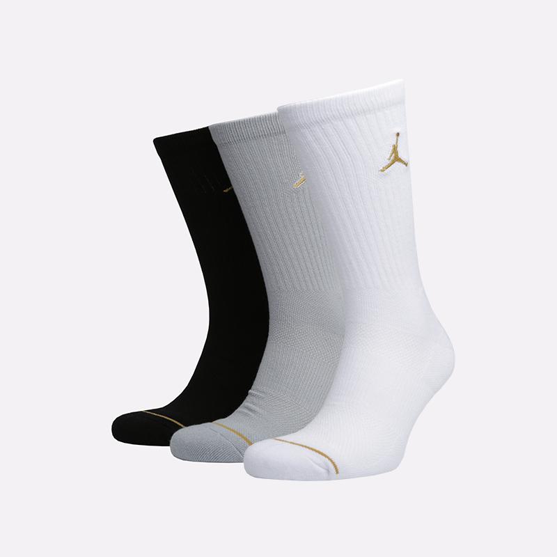 мужские белые, серые, чёрные  носки jordan everyday max crew SX5545-915 - цена, описание, фото 1