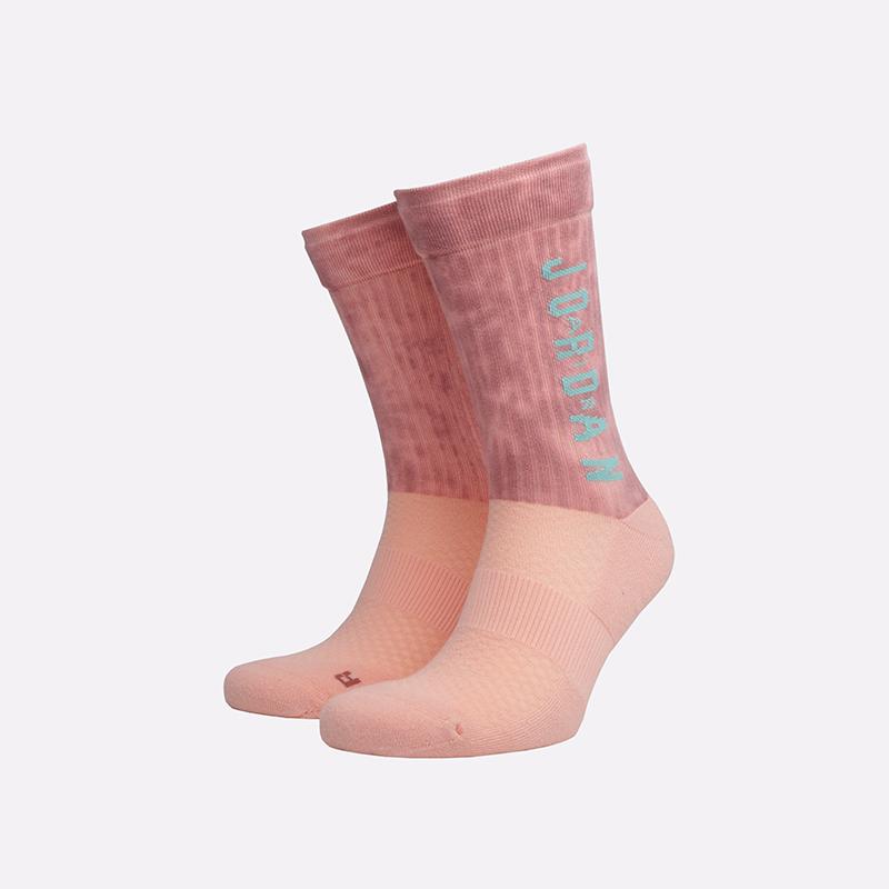 мужские розовые  носки jordan legacy crew SK0028-646 - цена, описание, фото 1