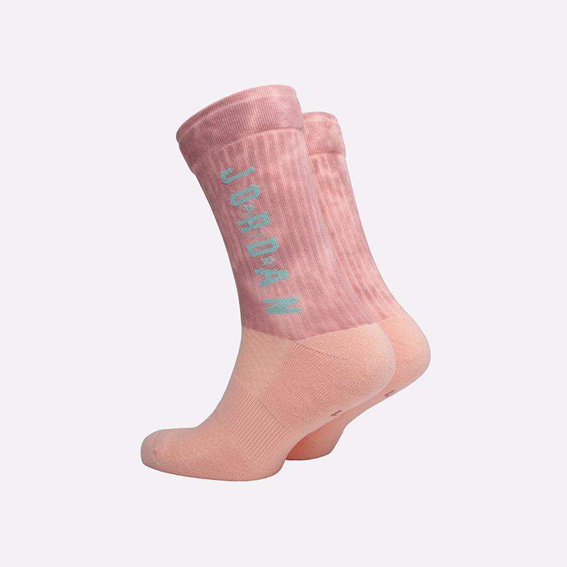мужские розовые  носки jordan legacy crew SK0028-646 - цена, описание, фото 2