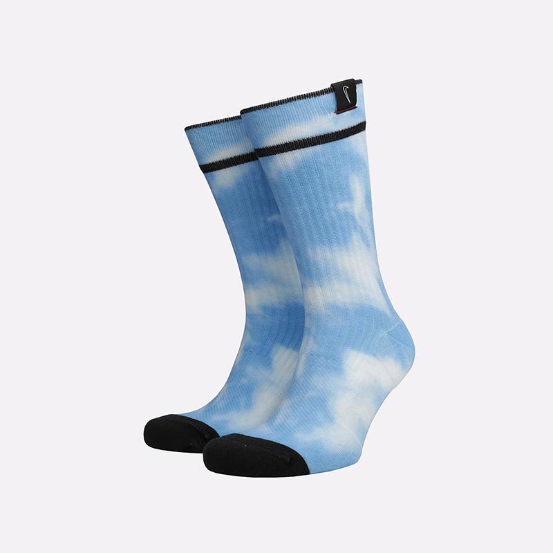 мужские голубые  носки nike snkr sox CT2285-100 - цена, описание, фото 1