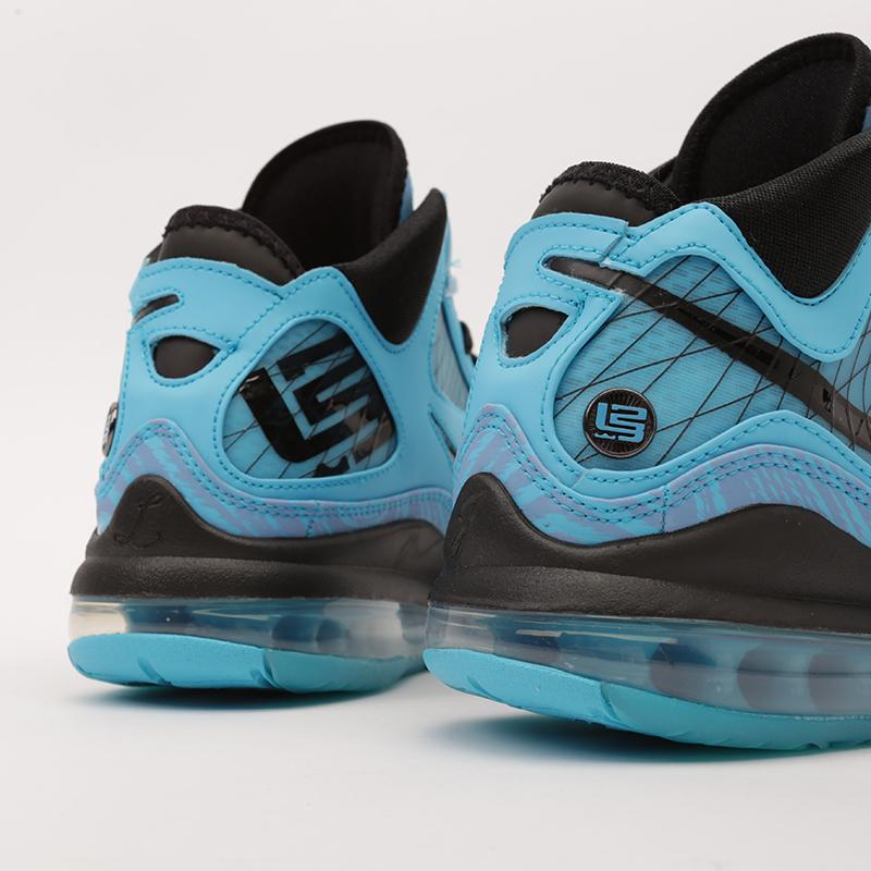 голубые  кроссовки nike lebron vii qs CU5646-400 - цена, описание, фото 6