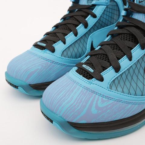голубые  кроссовки nike lebron vii qs CU5646-400 - цена, описание, фото 4