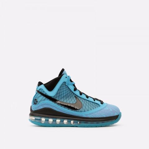 голубые  кроссовки nike lebron vii qs CU5646-400 - цена, описание, фото 1