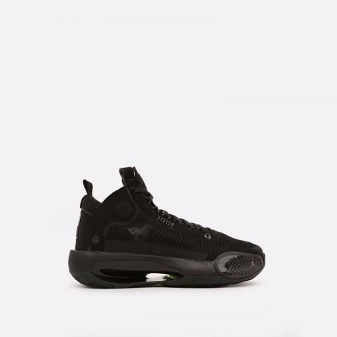 женские чёрные  кроссовки jordan xxxiv (gs) BQ3384-003 - цена, описание, фото 1