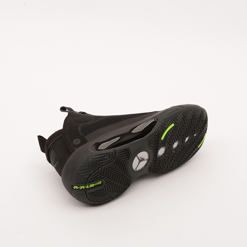 женские чёрные  кроссовки jordan xxxiv (gs) BQ3384-003 - цена, описание, фото 3