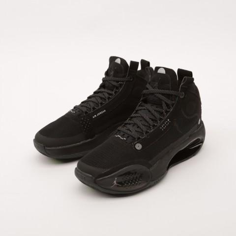 женские чёрные  кроссовки jordan xxxiv (gs) BQ3384-003 - цена, описание, фото 4