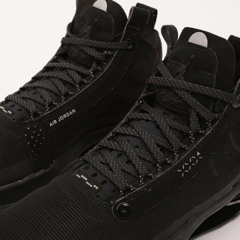 женские чёрные  кроссовки jordan xxxiv (gs) BQ3384-003 - цена, описание, фото 5