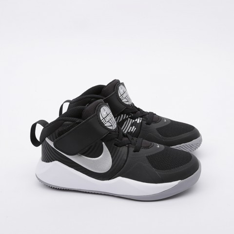 детские чёрные  кроссовки nike team hustle d 9 (ps) AQ4225-001 - цена, описание, фото 4