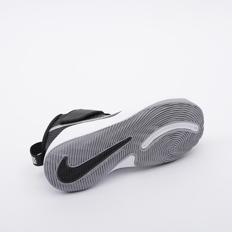 детские чёрные  кроссовки nike team hustle d 9 (ps) AQ4225-001 - цена, описание, фото 2