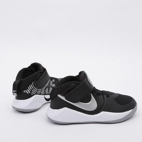 детские чёрные  кроссовки nike team hustle d 9 (ps) AQ4225-001 - цена, описание, фото 3