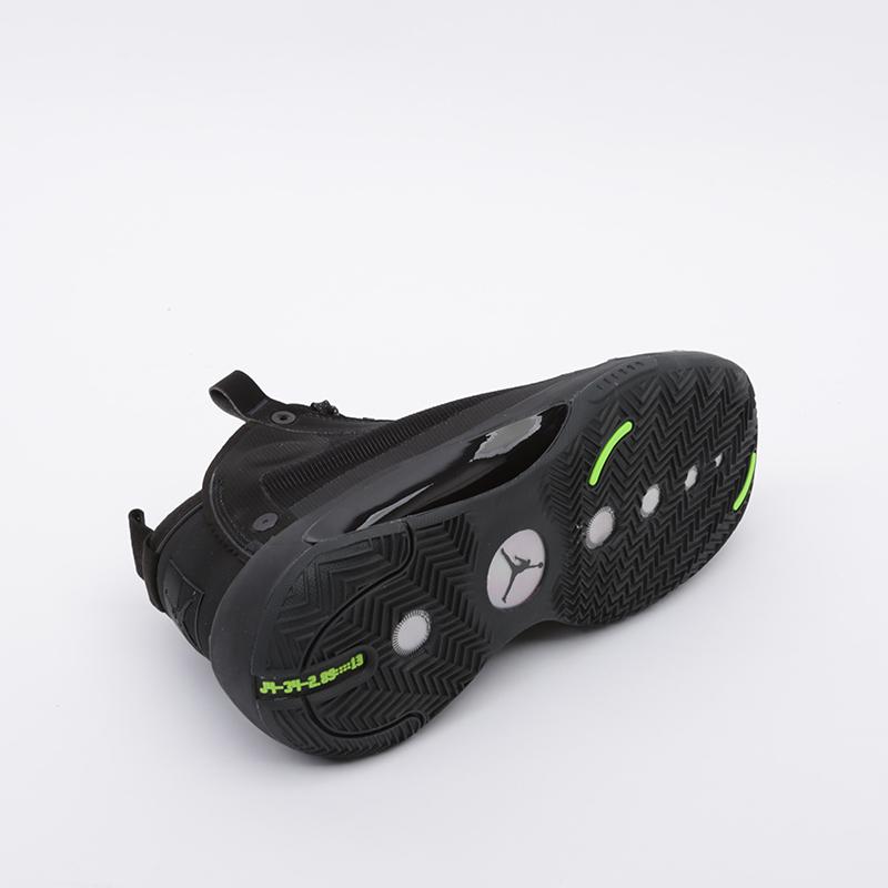 мужские чёрные  кроссовки jordan xxxiv AR3240-003 - цена, описание, фото 2