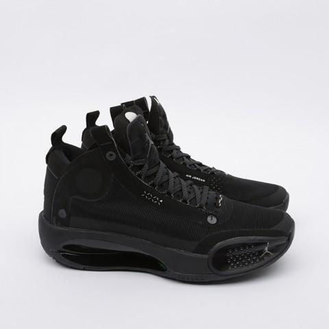 мужские чёрные  кроссовки jordan xxxiv AR3240-003 - цена, описание, фото 3
