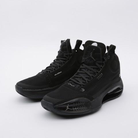 мужские чёрные  кроссовки jordan xxxiv AR3240-003 - цена, описание, фото 4