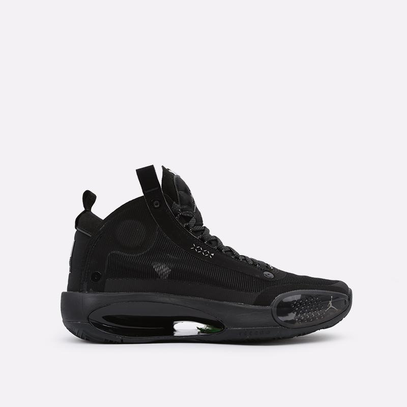 мужские чёрные  кроссовки jordan xxxiv AR3240-003 - цена, описание, фото 1