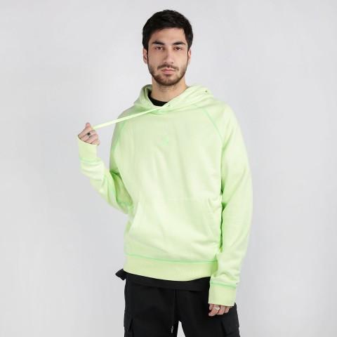 мужскую зеленую  толстовка jordan wings fleece  hoodie CD4567-380 - цена, описание, фото 1