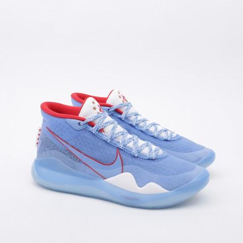 голубые  кроссовки nike zoom kd12 as CD4982-900 - цена, описание, фото 4