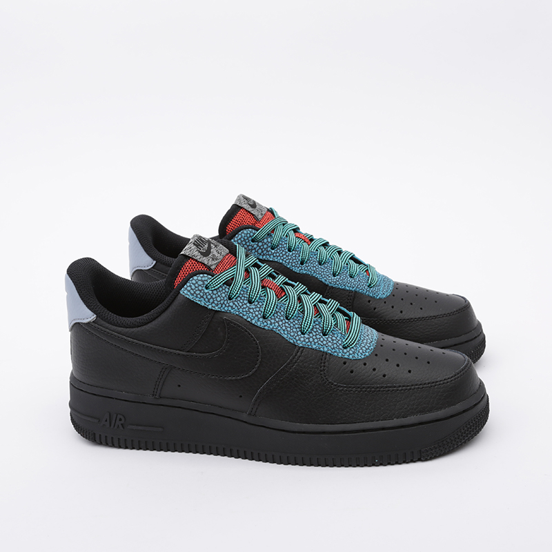 мужские чёрные  кроссовки nike air force 1 '07 lv8 4 CK4363-001 - цена, описание, фото 3