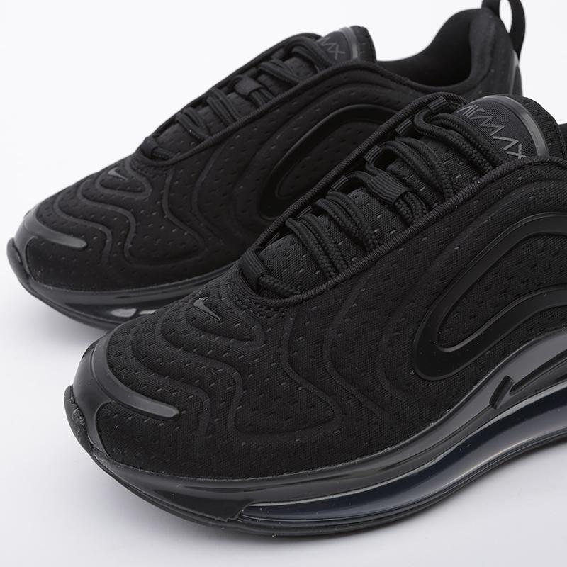 женские чёрные  кроссовки nike wmns air max 720 AR9293-015 - цена, описание, фото 7