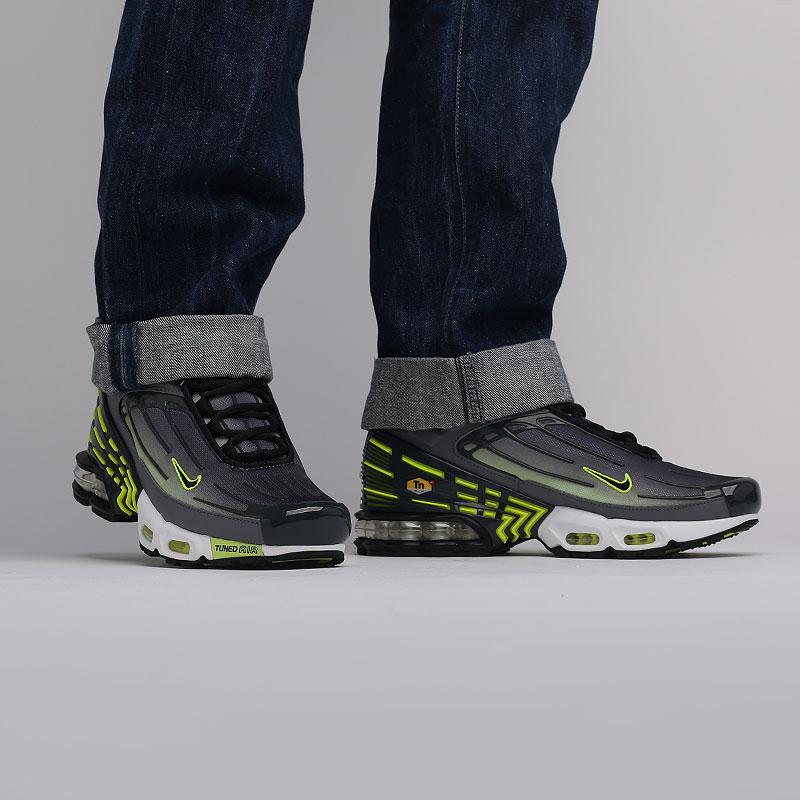 мужские серые  кроссовки nike air max plus iii CD7005-002 - цена, описание, фото 7