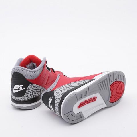детские красные  кроссовки jordan 3 retro se (ps) CQ0487-600 - цена, описание, фото 2