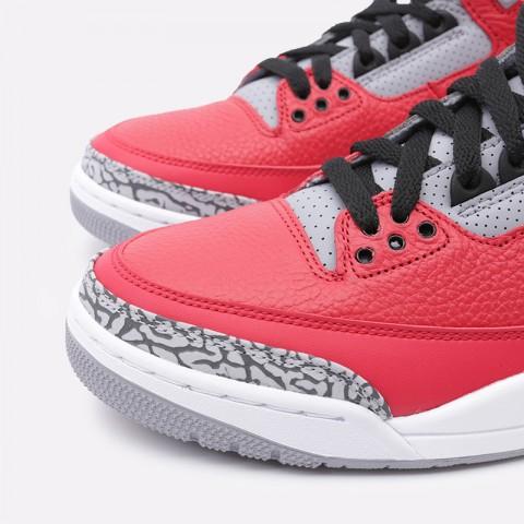 мужские красные  кроссовки jordan 3 retro se CK5692-600 - цена, описание, фото 4