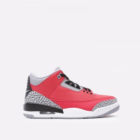 мужские красные  кроссовки jordan 3 retro se CK5692-600 - цена, описание, фото 1