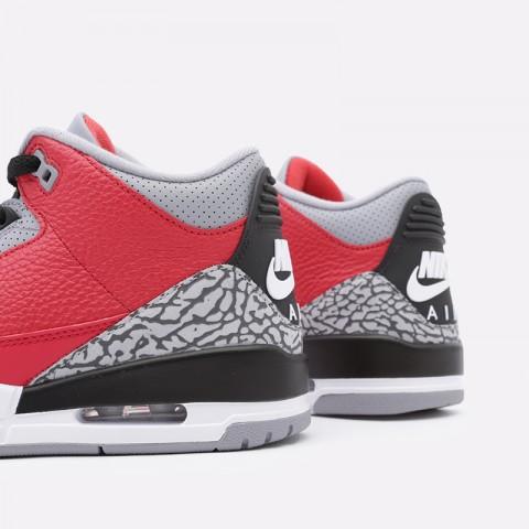 мужские красные  кроссовки jordan 3 retro se CK5692-600 - цена, описание, фото 6